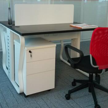 longxu办公家具 办公卡座 办公屏风桌  员工工作位 组合办公桌PF-18 四人位不带活动柜