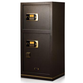 全能保险柜双保险保管柜 办公家用密码保管箱 AI120D 大型双门1.2米