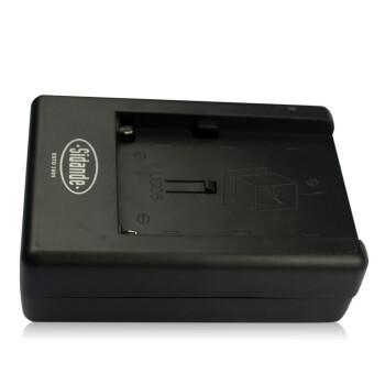 斯丹德(sidande)DU01索尼摄像机NP-F550 F570 F750 F960 F970 补光灯电池充电器 座充