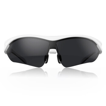 USAMS智能蓝牙眼镜头戴式影院耳机偏光太阳镜近视 K2白色