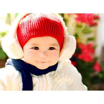可爱宝宝海报孕妇备孕漂亮宝宝画图片婴儿海报大胎教照片墙贴 05号