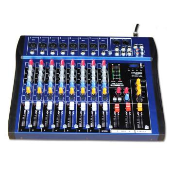 现代(HYUNDAI)CT-80S 调音台8路 舞台KTV演出USB调音台专业