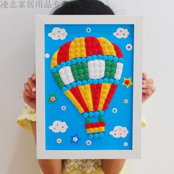 国庆节粘贴画作品分享展示