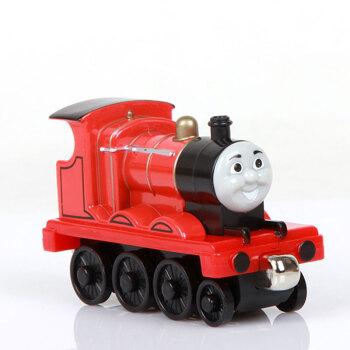 头牛动画片人物托马斯玩具车小图纸火车合金养牛场卡通磁性20v头牛图片