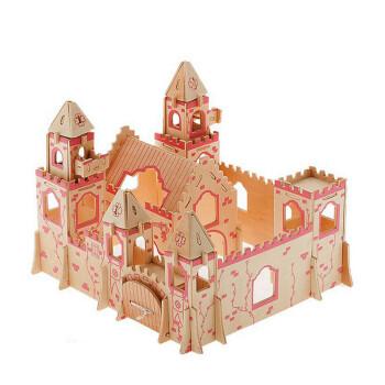 小学生手工别墅模型 公主城堡a
