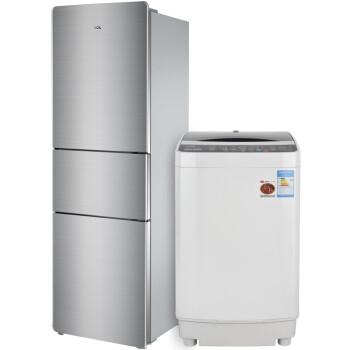 TCL 50-1678+205TF1 5公斤全自动洗衣机+205升三门冰箱 套装