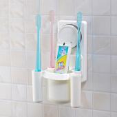 【家庭装】家居吸盘牙刷架创意牙刷架卡通牙刷架牙刷座