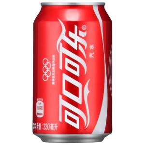 可口可乐听装330ML(6瓶装)