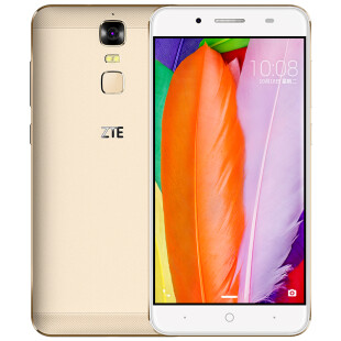 中兴(ZTE) A2 Plus 4GB+32GB高配 流光金 全网通4G双卡双待