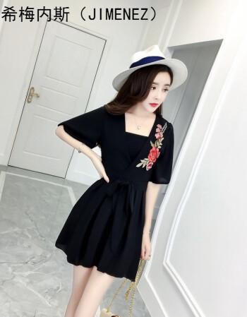 适合145-150cm娇小矮个子衣服女装夏季夏天连衣裙女生
