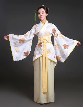 唐装戏服古装服装女仙女唐朝古代汉服演出服古典舞蹈公主贵妃女装 浅图片