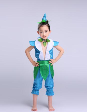 儿童葫芦娃演出服装六一儿童节表演服装环保葫芦娃衣服葫芦娃qss 天