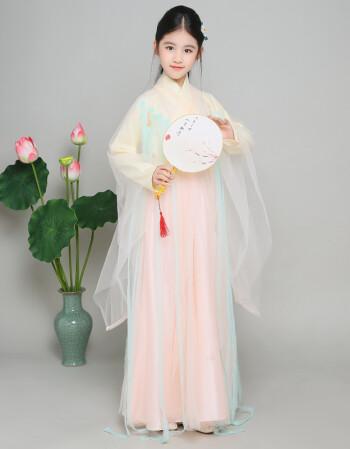三生三世十里桃花服装 白浅杨幂cos同款儿童 古装女童