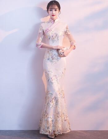 礼服晚装旗袍