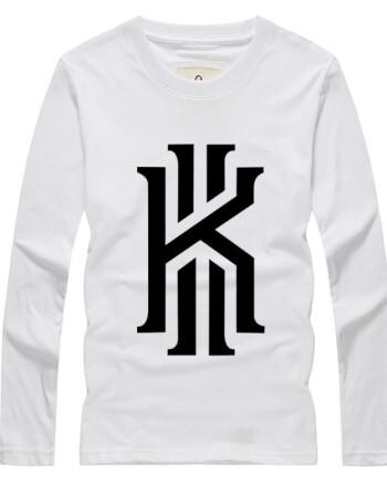 摩蝎专柜正品潮牌李晨春秋世界杯篮球 凯里欧文标识logo印花潮流男女图片