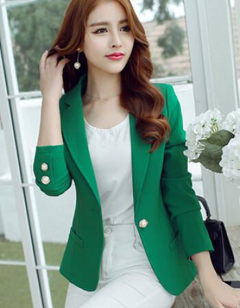 夏尔维纳中年轻少妇女装秋季成熟风衣女小西装外套秋天短款30到40岁45