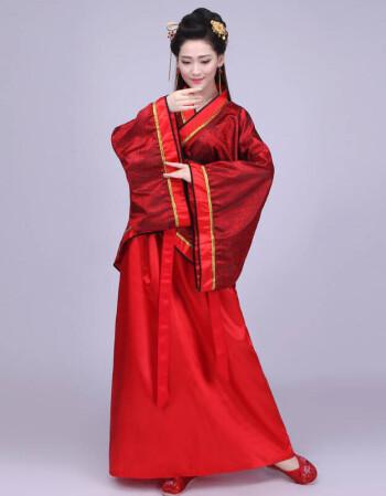 古装服装女装仙女唐朝古代汉服演出服舞蹈襦裙公主贵妃古典舞唐装白色图片
