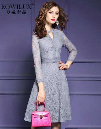 连衣裙长袖蕾丝