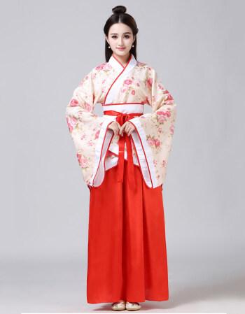 唐装戏服古装服装女仙女唐朝古代汉服演出服古典舞蹈公主贵妃女装 小
