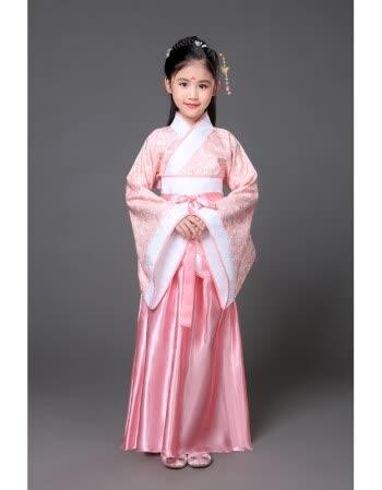 六一儿童古装唐装女童古装仙女装表演服古代公主古筝汉服贵妃服装 粉