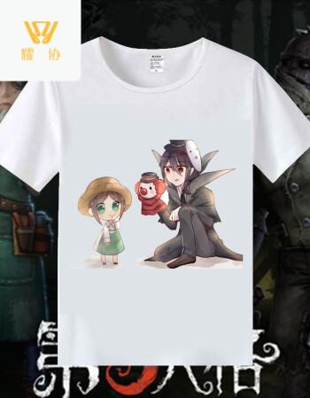 耀协 第五人格游戏周边t恤 杰克园丁魔术机械师动漫学生休闲短袖衣服