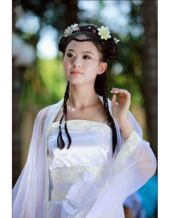 汉服夏装女古装服装汉唐仙女装襦裙性感七仙女贵妃装古装污女衣服1