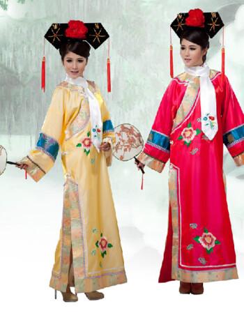 【全场9折】清朝妃子古装甄嬛传皇宫格格福晋皇后服装