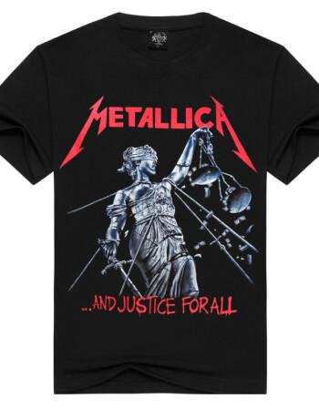 金属乐队T恤