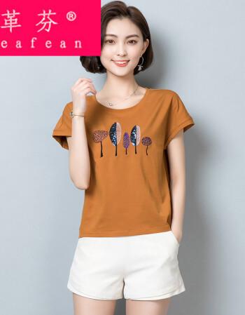 少妇系列癹n��.�_革芬 大码女装夏装季短袖t恤体血衫桖上衣服单衣tx衫中年少妇女装30n