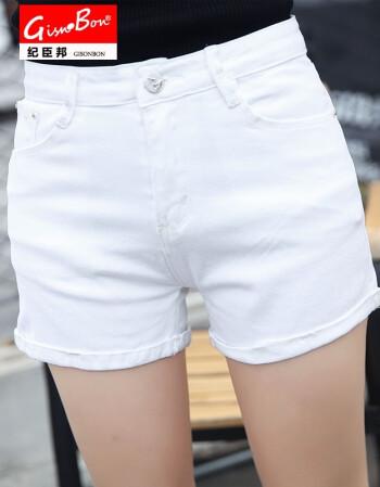 宽松牛仔热裤短裤
