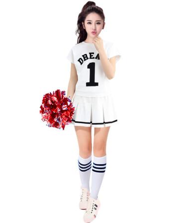 成人操guo_少女时代啦啦队服拉拉队男女足球宝贝啦啦操服装成人健美操演出服表演