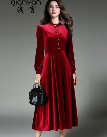 连衣裙民族风裙