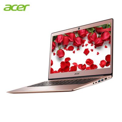 宏碁(acer) 宏基蜂鸟13.3英寸超薄笔记本电脑学生办公IPS全高清指纹识别 限量粉(4G内存 256G固态 1080P)