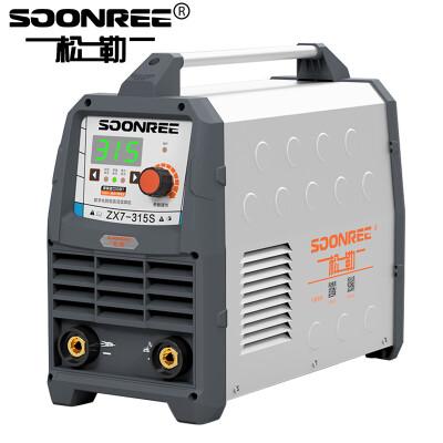 松勒电焊机ZX7-250S 315S家用220v 380v双电压两用全自动小型全铜芯迷你直流家用焊机 315S 数字化智能宽电压款 标配