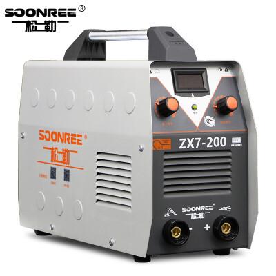 松勒电焊机ZX7-200/250全铜芯全自动便携式小型家用220V焊机逆变直流手工电焊机 200加强款220V 标配