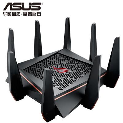 华硕(ASUS)GT-AC5300 ROG游戏路由 5300M三频全千兆低辐射/无线电竞路由器/MU-MIMO吃鸡路由/支持AiMesh