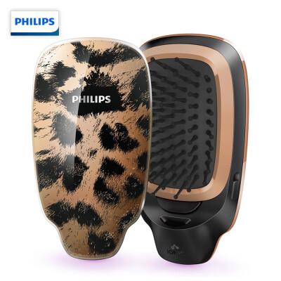 飞利浦(PHILIPS) 负离子造型梳 护发必备呵护头发防静电 野猫图形HP4595/75