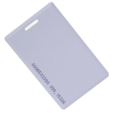 中控智慧(ZKTeco) 考勤机感应IC卡ID薄卡厚卡考勤卡门禁卡 ID厚卡 十张
