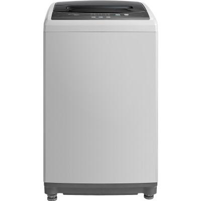 美的(Midea)5.5公斤全自动波轮洗衣机(灰色) 8段水位 桶自洁 MB55V30