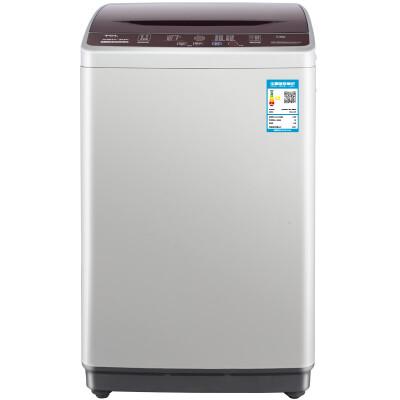 TCL 5.5公斤 全自动波轮洗衣机 一键脱水 24小时预约 10种洗涤程序 模糊控制(亮灰色)XQB55-36SP