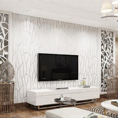 本木 壁纸客厅...
