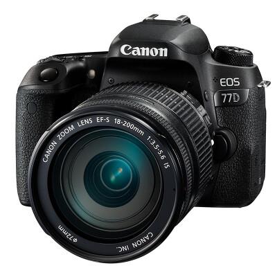 佳能(Canon)EOS 77D 单反套机(EF-S 18-200mm f/3.5-5.6 IS)
