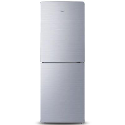 TCL 182升 双门冰箱 LED冷光源 一体成型(星空银) BCD-182KZ50