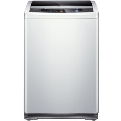 三洋(SANYO) 8公斤全自动波轮洗衣机 大容量洗涤 全模糊智能控制 24h预约(亮灰色) WT8455M0S