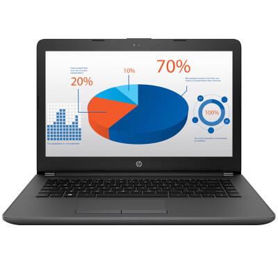 惠普(HP)246 G6 14英寸笔记本电脑(i3-6006U 4G 500G 2G独显 Win10 一年上门)黑灰银色