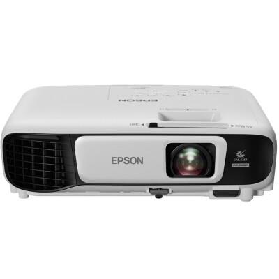爱普生(EPSON)CB-U42 办公 投影机 投影仪(3600流明 支持左右梯形校正 双HDMI 内置无线投影)