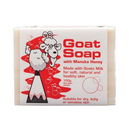 手机端:GoatSoap澳大利亚 手工山羊奶皂蜂蜜味100克9.9包邮(保税区发货)