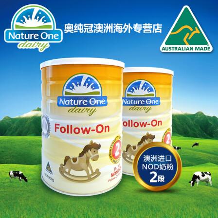 奥躜���g����.���/_nature one dairy 奥纯冠标准二段奶粉 澳大利亚原装原罐直邮 900g