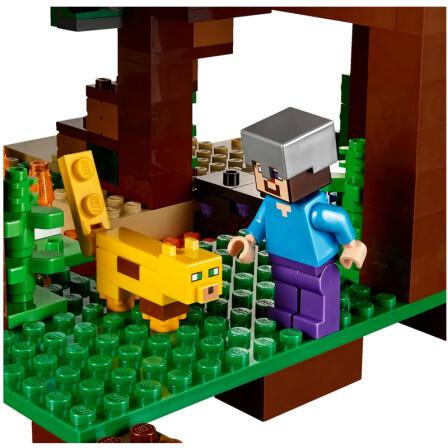 【香港直邮】乐高(lego)我的世界 拼插积木玩具 丛林树屋 21125图片