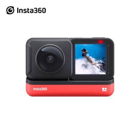 一款可以隐藏自拍杆的运动全景相机 抖音滑雪同款 insta360 one x